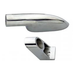 Soporte D25 Pase en forma de acero inoxidable