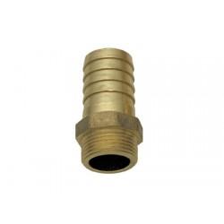 Racor de Bronce Salida de Manguera 3/4 x 25 mm