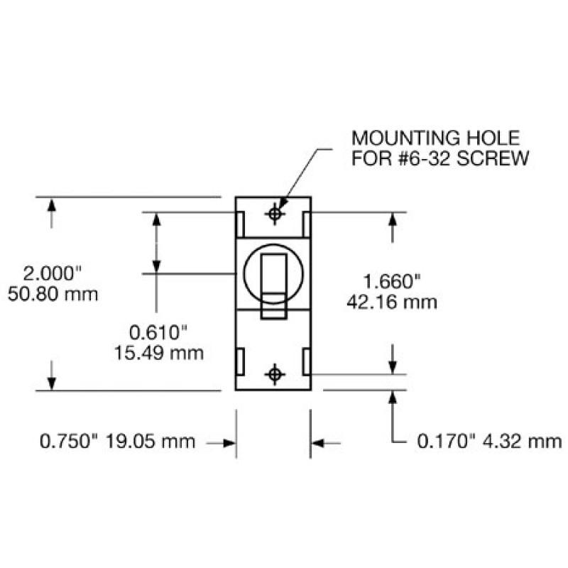 Interruptor Disyuntor de circuito de 021aa - 20A