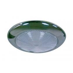 Lámpara de techo Slim D95 inoxidable Led