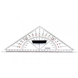 Transportador de Angulos Triangular 260mm