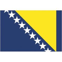 Bandera BOSNIA & HERZEGOVINA 30X45CM