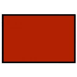 Señal roja bandera los 20x30cm