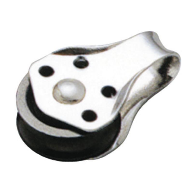 Polea Simple Inox perno Extraible Cabo 6mm