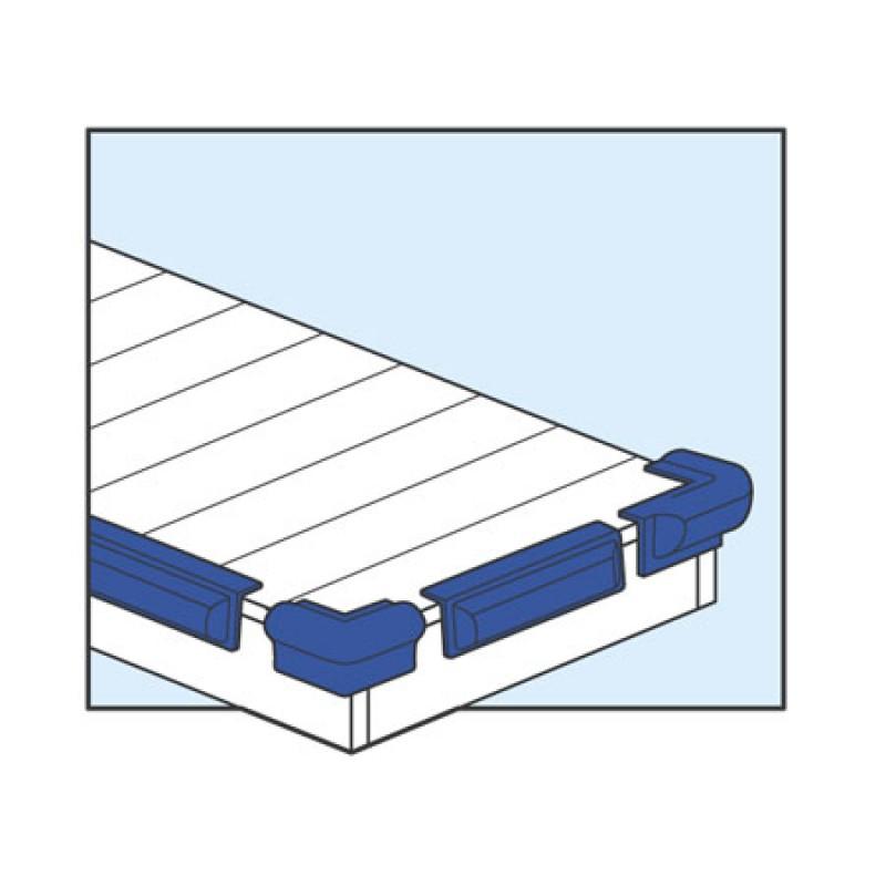 Defensa de Pantalan Majoni Jf3 ángulo azul
