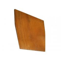 Espejo placa angulada 20 madera