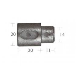 Anodo Motores Aifo-Fiat (20x20mm)