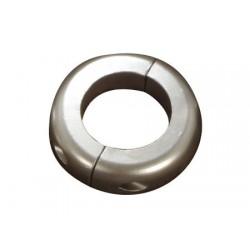 Ánodo Collarín plano de Cinc Eje de 30 mm
