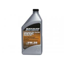 Aceite Quicksilver Sintetico 5W30 Diesel 1lt