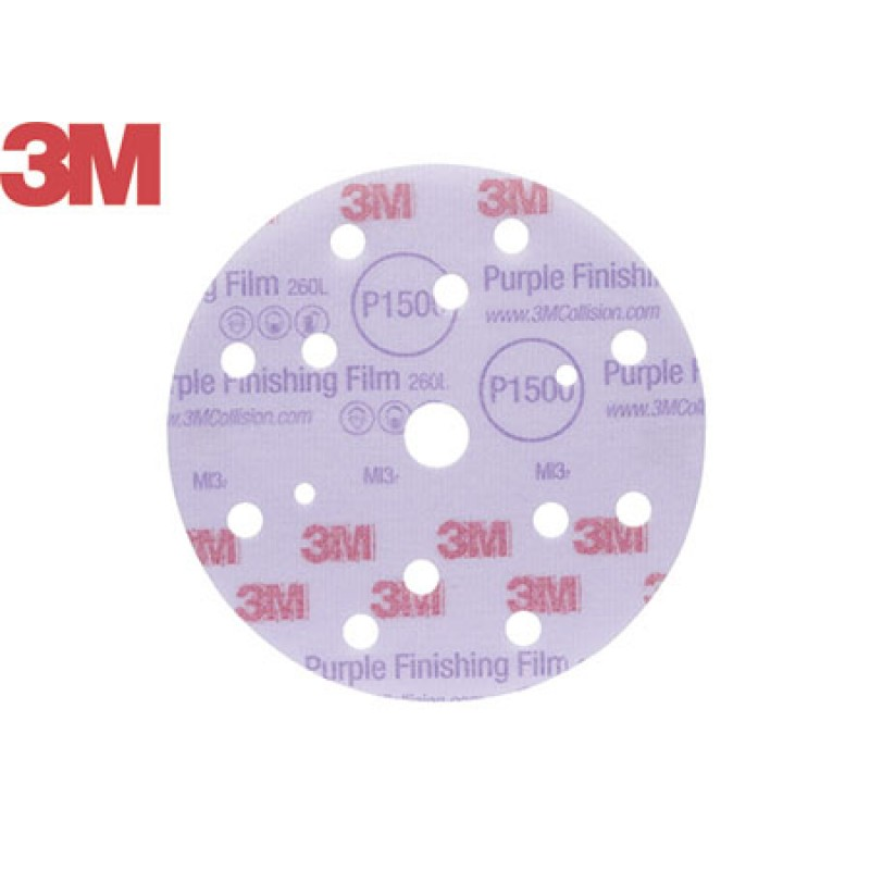 Disco Abrasivo terminacion 3m D150 P1500