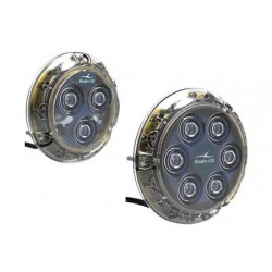 Bluefin Led Underwater light 110 x H17mm Blue 6 x 6w 12v
