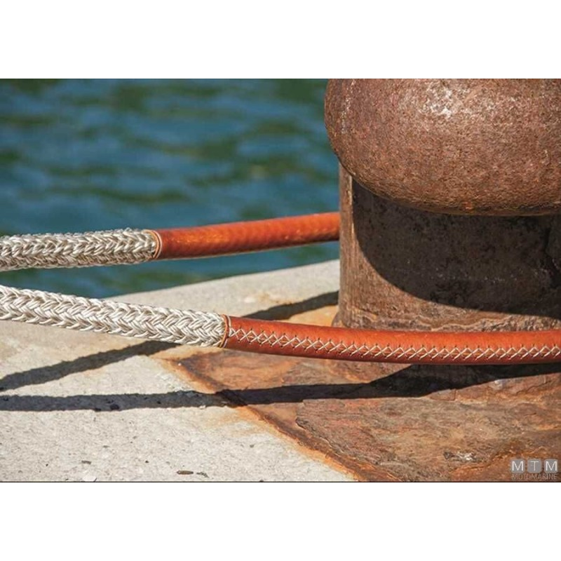 Dock Line Canapa D32 L16 Eye100 Brown