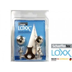 Pack botones Loxx/tenax + tornillo 2