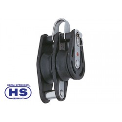 Ball bearing HS blocks for sheets up to 8 mm Double with Becket