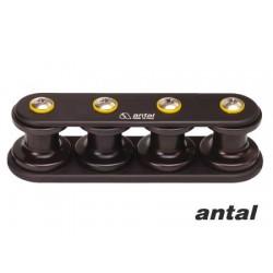 Organizador de cubierta Antal V-cam 814 3 ruedas 14 mm