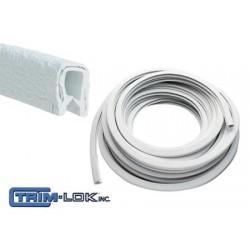 Perfil de terminación Blanco 15 mt 3.5-5 mm Interior