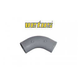 Codo Vetus 120º manguera de D60