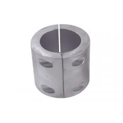 Ánodo Collar de zinc Eje de 80 mm