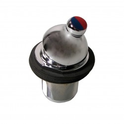 Selector Cromado para Agua Fria o Agua Caliente