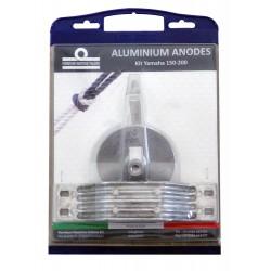 Kit anodos Aluminio Fuerabordas Yamaha 150-200 HP