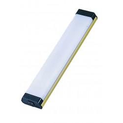 Plafon Fluorescente Dorado Rectangular 6 W, 12V