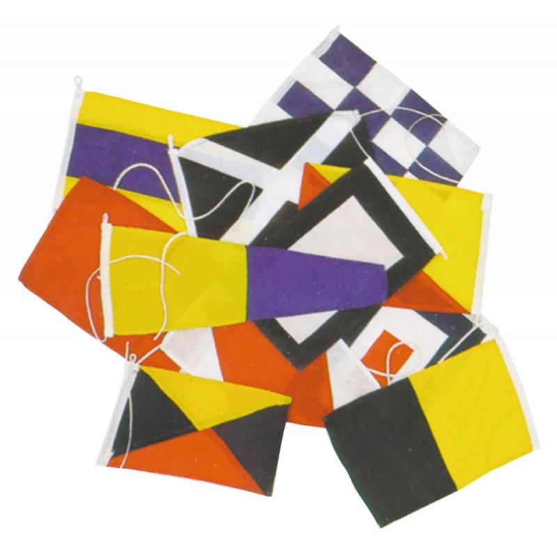 Codigo Internacional de 40 Banderas 14x20 cm