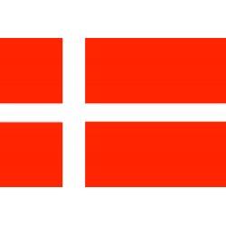 Bandera de Dinamarca 30 x 45 Cm.