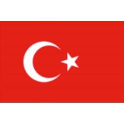 Bandera de Turquía 40 x 60 Cm.