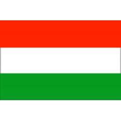 Bandera de Hungría 40 x 60 Cm.