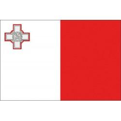 Bandera marina MALTA cm. 20 X 30
