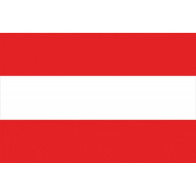 Bandera de Austria 30 x 45 Cm.